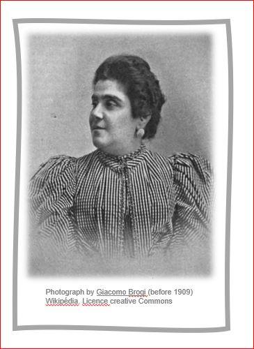 Romancière italienne : Matilda Serao (1856-1927)