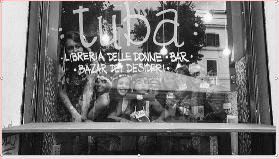 A Rome, Tuba, une librairie d'autrices !