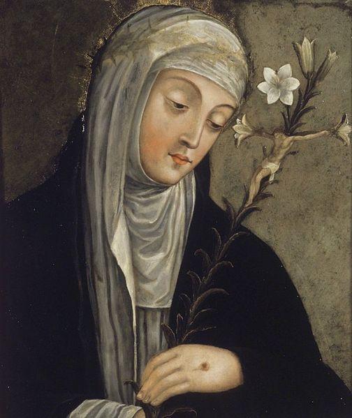 Autrice italienne : Caterina di Siena (Catherine de Sienne) (1347-1380)
