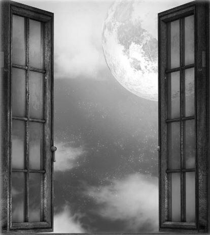 Nue sous la fenêtre/ Jean deSantec